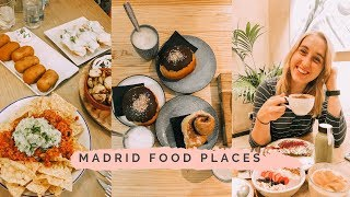 VEGAN FOOD MADRID| WHAT I EAT on HOLIDAY