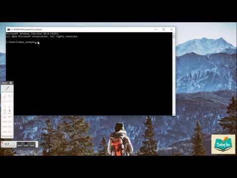 Video Cara mengatasi virus shortcut dengan CMD