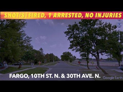 LISTEN: Shot(s) Fired In Fargo, 1 Arrested, No Injuries
