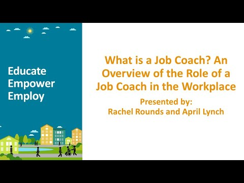 What is a Job Coach? An Overview of the Role of a Job Coach in the ...