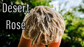 BOOST YOUR SELF WORTH WITH - Desert Rose, a gentle type of selenite crystal-the ultimate healer!