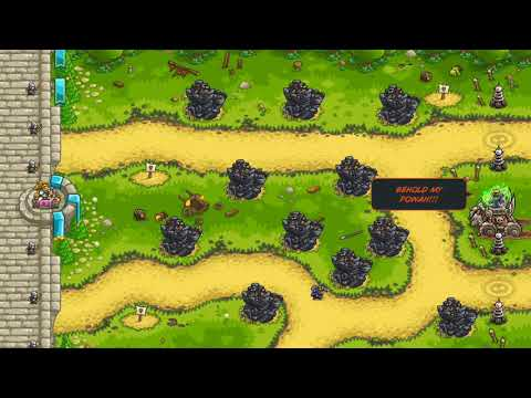 Kingdom Rush Vengeance - Northerners' Village (Iron, Impossible) 20
