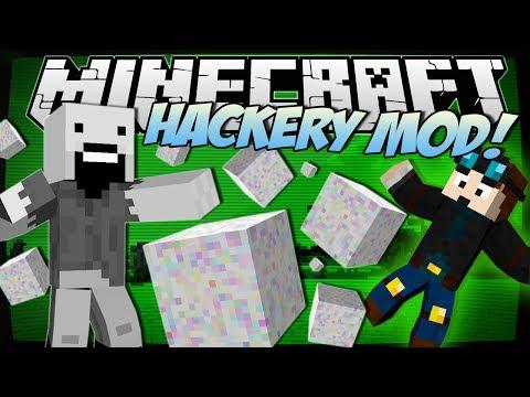 , title : 'Minecraft   HACKERY MOD! (Glitches, Hacking, Cheats & More!)   Mod Showcase'