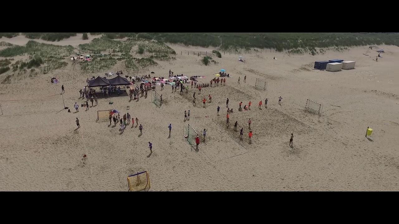 Beach handbal toernooi 2019