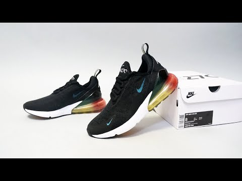 Nike Air Max 270 Flyknit On feet Review: Best in Class Everyday Lifestyle Sneaker?