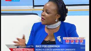 One-on-One with Purity Ngirici, Woman Rep. Kirinyaga 2017, Race for Kirinyaga