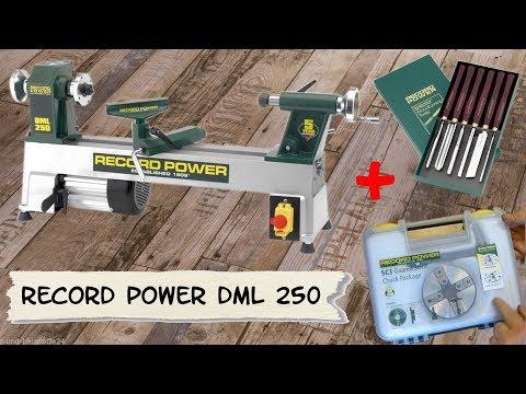 Drechselbank/RecordPower DML250/Zubehör/Unboxing