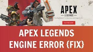 "Apex Legends - Fix Engine Error 0x887A0006 - ""DXGI_ERROR_DEVICE_HUNG"" [Solved]"