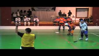 preview picture of video 'Inline Hockey-Cyprus First Official Championship Game 1'