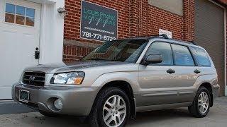 2005 Subaru Forester L.L.Bean Walk-around Presentation At Louis Frank Motorcars, LLC In HD