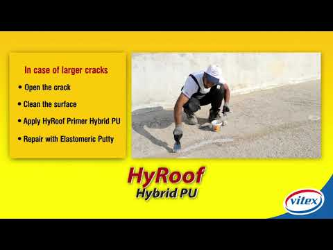 HYROOF HYBRID PU - Waterproofing Roof Coating
