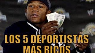 LOS 5 DEPORTISTAS MÁS RICOS DEL MUNDO