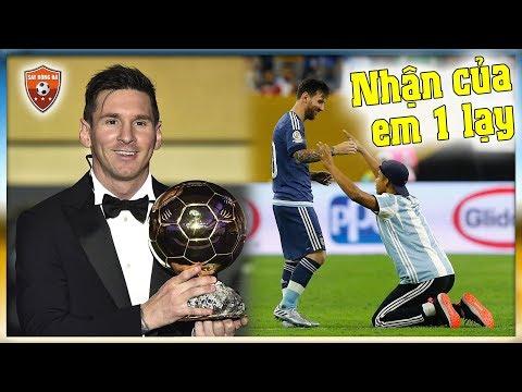 Lionel Messi   Quá đa năng & quá nguy hiểm