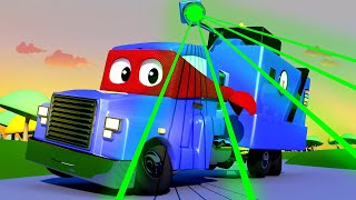 Детские мультики с грузовиками - Умножающиеся полицейские машины