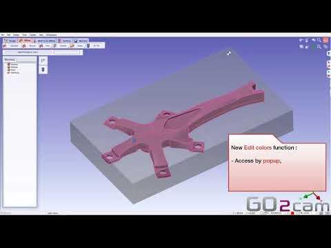 GO2cam V6.05 // Neue grafische Benutzeroberfläche 1/2