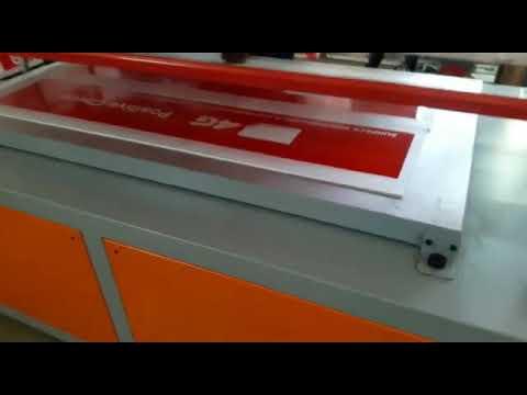Flatbed Screen Printing Machine