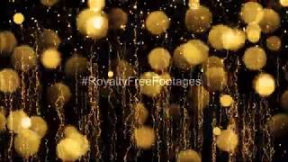 Christmas golden background video effects hd | Christmas background video | background for christmas