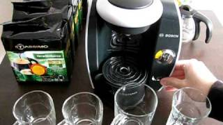 Bosch Tassimo kurz vorgestellt - Kaffee, Kakao, Latte und Tee aufgebrüht