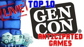 Top 10 Anticipated Games at GenCon 2019