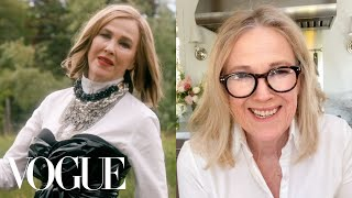 Catherine O'Hara Breaks Down 9 Looks From 1988 to Now | Life in Looks | Vogue