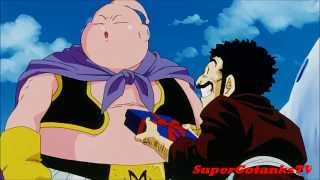 Mr. Satan  - (Dragon Ball) - Mr. Satan/Hercule Gives Majin Buu Deadly Presents