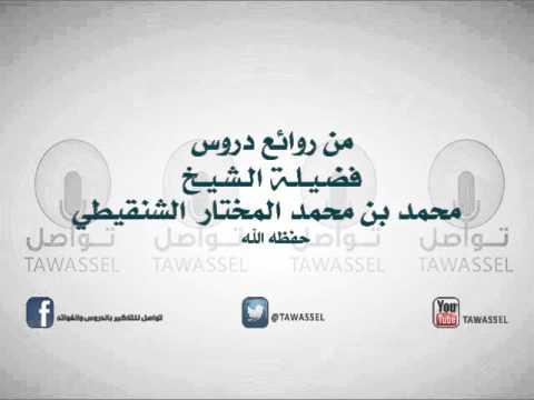 أحكام وفضائل عشر ذي الحجة للشيخ محمد المختار الشنقيطي