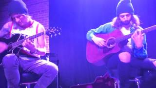 "The word alive ""You're all i see"" acoustic performance"