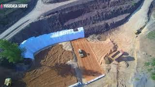 Pembangunan Bandar Udara Buntu Kunik Tana Toraja  Drone  #2