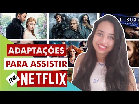 30 Adaptações literárias para assistir na Netflix ? 2021 | Karina Nascimento | Paraíso dos Livros