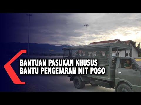 bantuan pasukan khusus bantu pengejaran mit poso