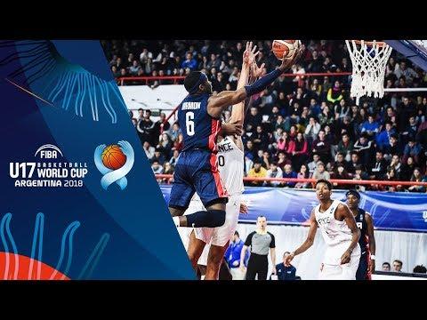 France v USA - Condensed Game - FINAL - FIBA U17 Basketball World Cup 2018