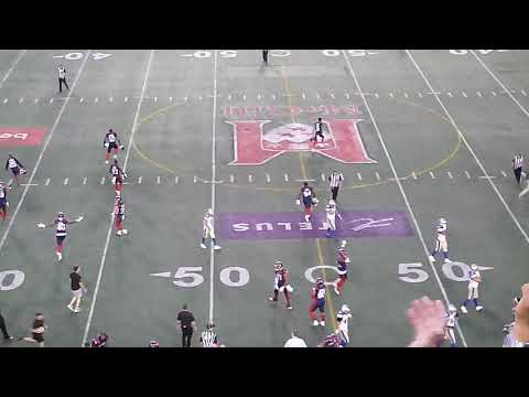 The final play of the game of the Montreal Alouettes' amazing comeback vs. Winnipeg 92119
