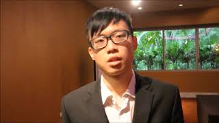 Mr. Chun Hin Chan at ORS Conference 2013 by GSTF Singapore
