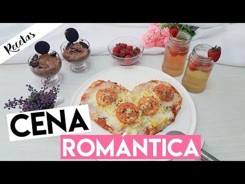 Menú cena romántica en casa fácil para San Valentin ft @mayelaeve y @zahacassis