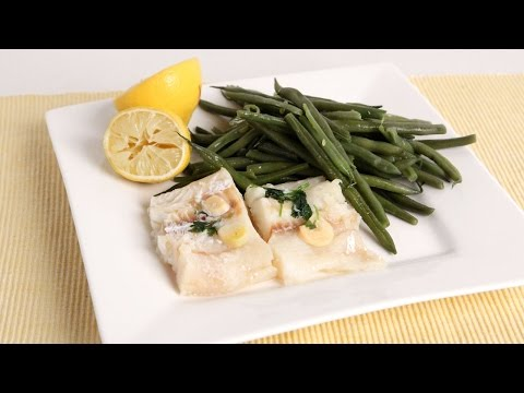 Nonna's Easy Steamed Cod & Green Beans - Laura Vitale - Laura in the Kitchen Episode 1016
