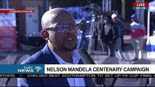 Nelson Mandela centenary campaign