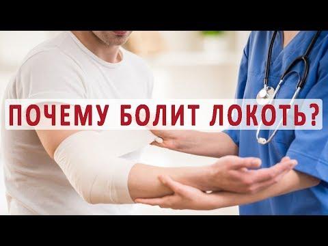 Причины и лечение болей в локте