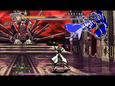 guilty gear psp gameplay