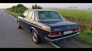 САМАЯ НАДЕЖНАЯ МАШИНА ! Mercedes-Benz 123 !