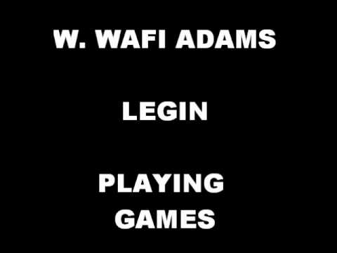 Playing Games - Walter W. Adams, LEGIN