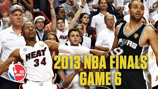 [FULL GAME] San Antonio Spurs vs. Miami Heat | 2013 NBA Finals Game 6 | NBA on ESPN
