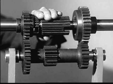 This video from 1936 explains spinning levers and gears better than any modern video I've seen....