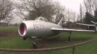 preview picture of video 'Norfolk and Suffolk Aviation Museum - Flixton'