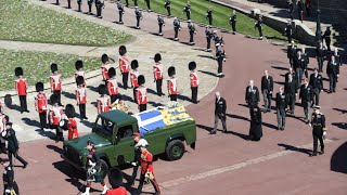 video: Drivers of Prince Philip's Land Rover hearse spent week ensuring they went at right speed