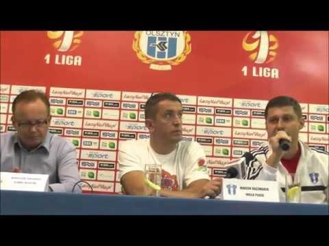 Konferencja prasowa po meczu Stomil - Wisła