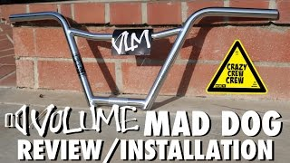 Volume 4 piece handle bar review/installation
