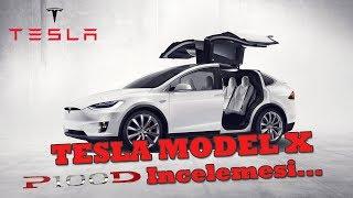 Tesla Model X 100D & P 100D Tanıtımı 2018 San Fransisco | Model X İzlenimleri - Video Youtube