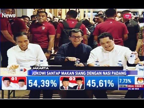 Pengujung Mall Heboh Jokowi Makan Siang Bareng Erick Thohir & Wishnutama - iNews Pagi 21/04