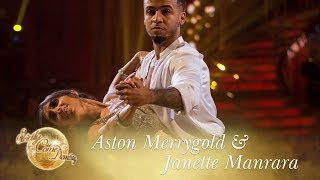 Aston and Janette Waltz to 'Can't Help Falling In Love' - Strictly Come Dancing 2017