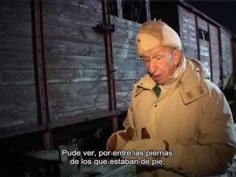 Israel Aviram relata sobre el vagón de tren en el camino a Auschwitz